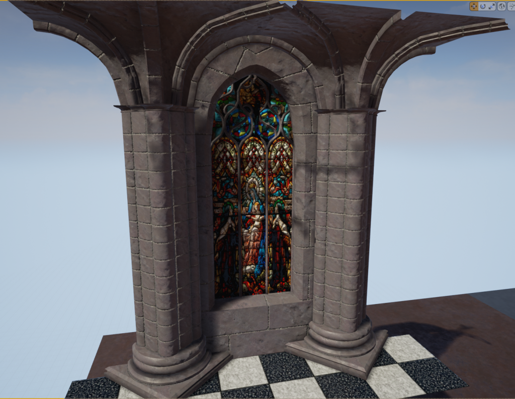 textured gothic project