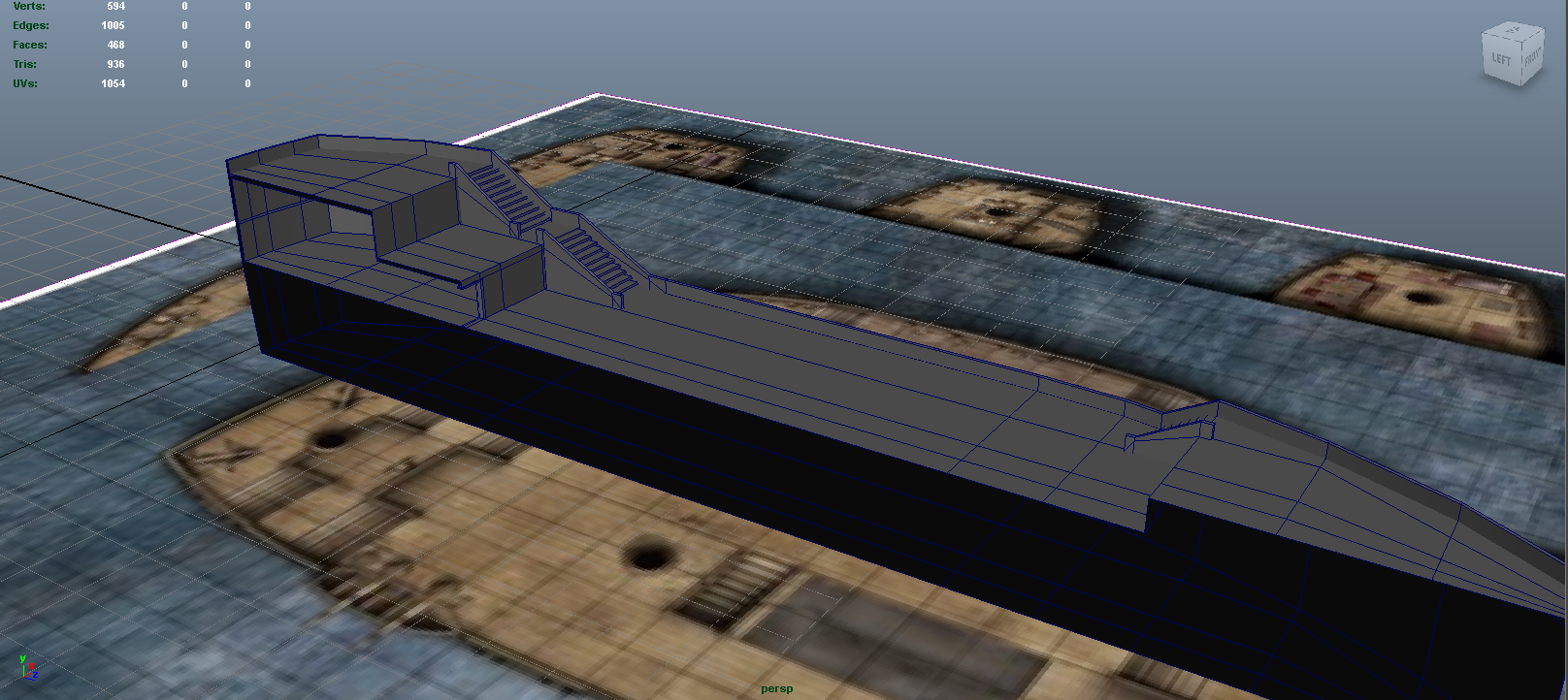 ship model wip