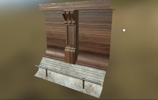 Modular Wooden Bar