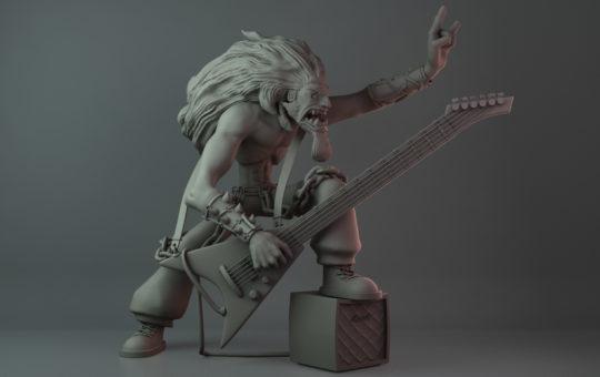 Mangy Dog Character Sculpt