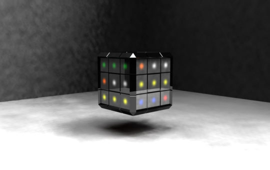 Rubiks Cube Render