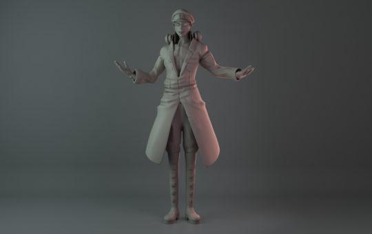 Mitsuru Character Sculpt